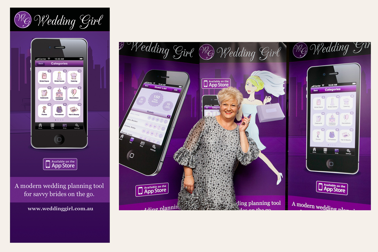 Wedding Girl -  Exhibition Banners